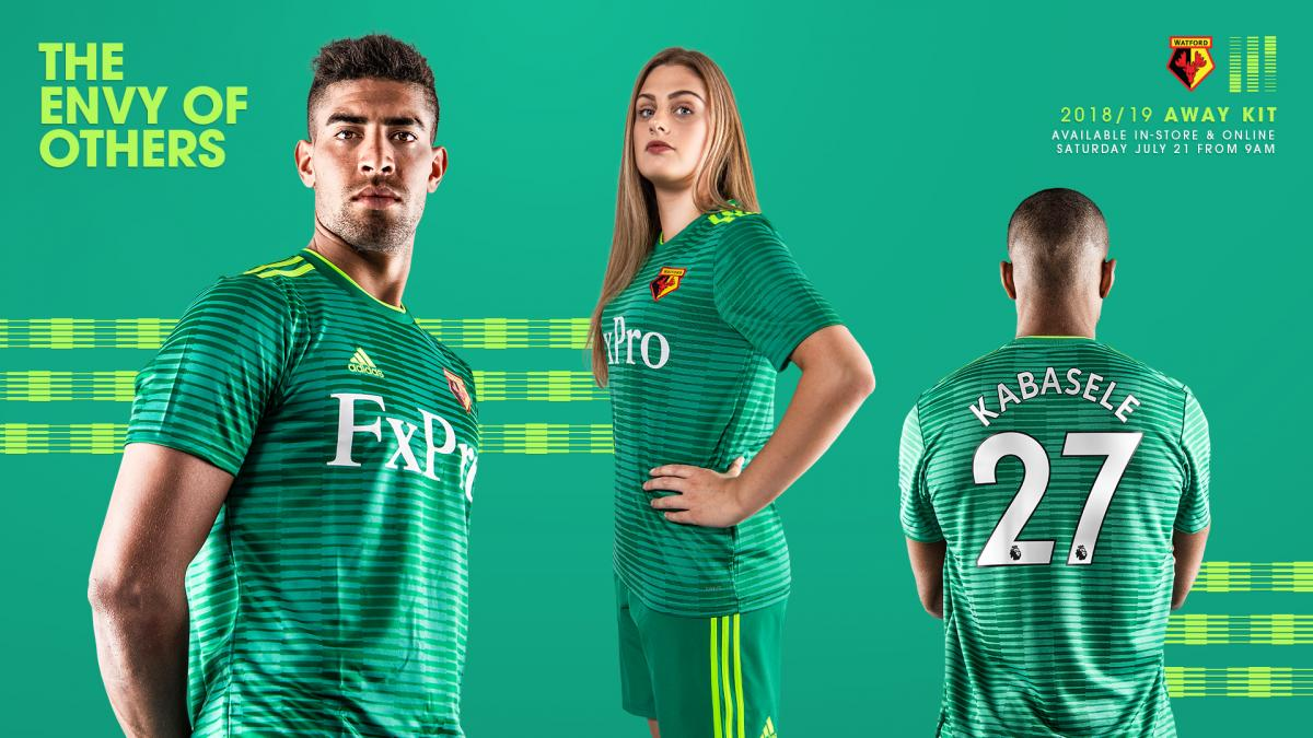 6a75d042be4 VIDEO: Watford reveal new away kit for 2018/19 campaign | Watford ...