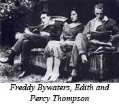 Watford Observer: Freddy Bywaters, Edith and Percy Thompson