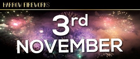 HARROW And London Fireworks Display 3rd November 2018 CELEBRATION OF CULTURE