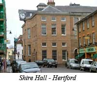 Shire Hall - Hertford