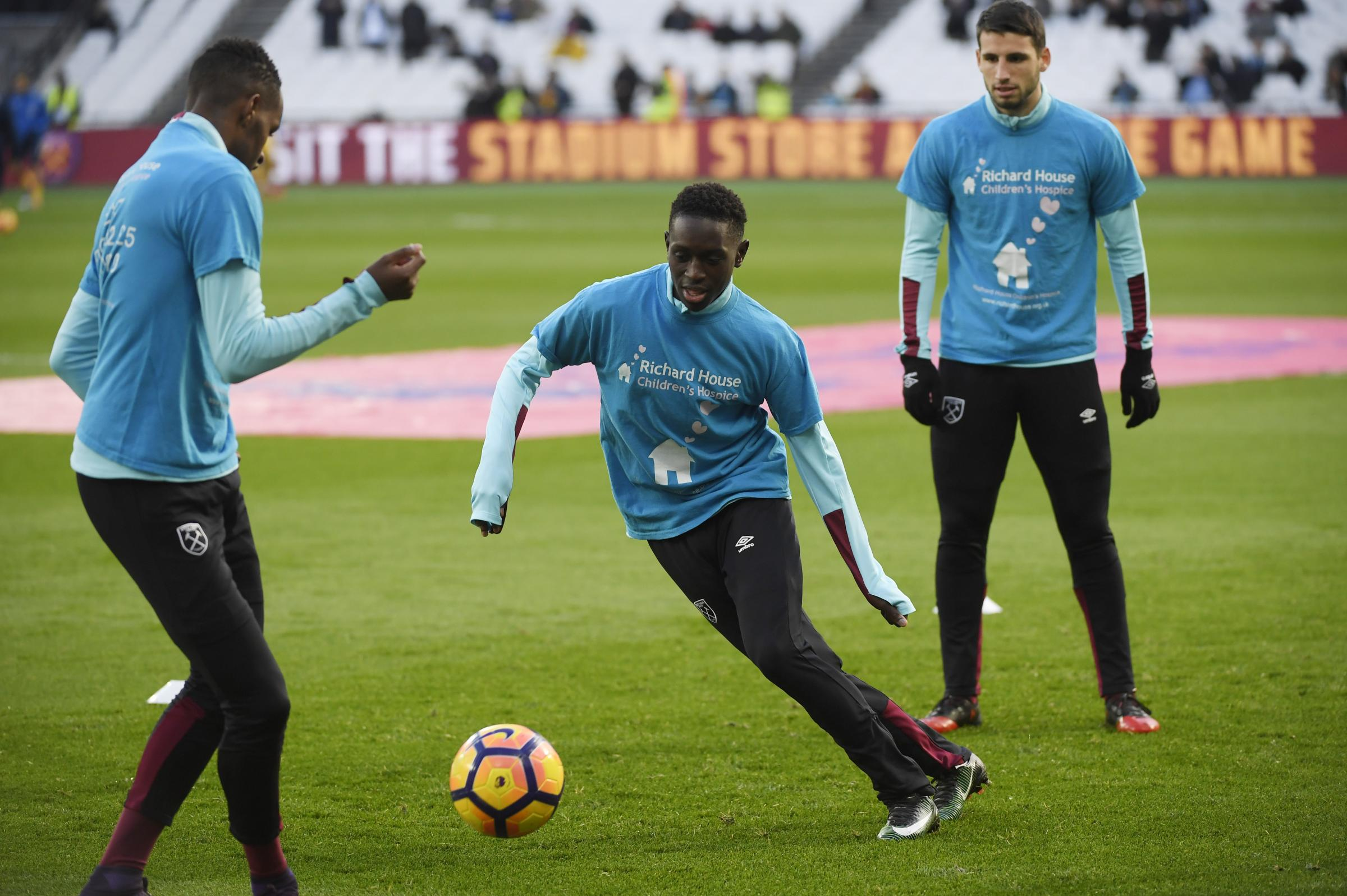 Domingos Quina is at the Watford training ground attempting to seal a late transfer. Picture: Action Images