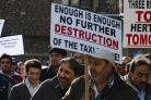 Taxi drivers to fight 'extinction' threat