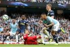Manchester City squandered chances to score even more goals against Fulham