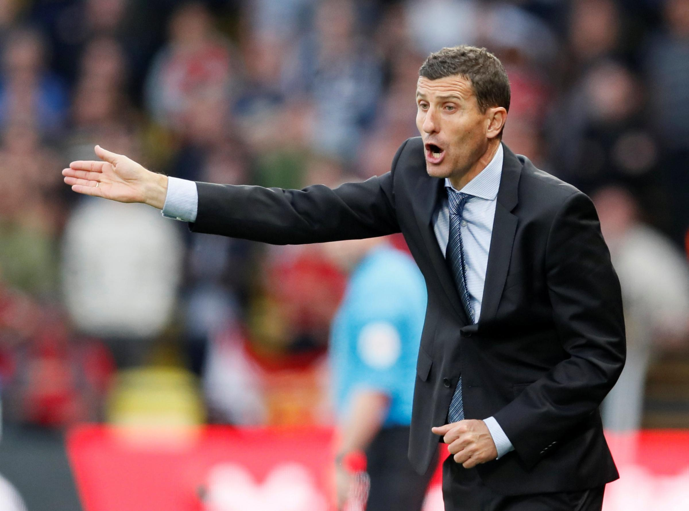 Javi Gracia expects his side to recover from their first defeat of the season. Picture: Action Images