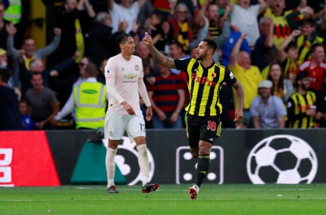 Watford matched Man United on parts on last week. Picture: Action Images