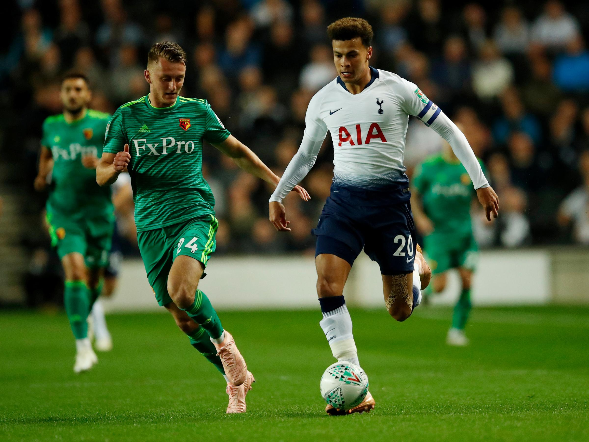 Ben Wilmot was one of the squad players to impress against Spurs. Picture: Action Images