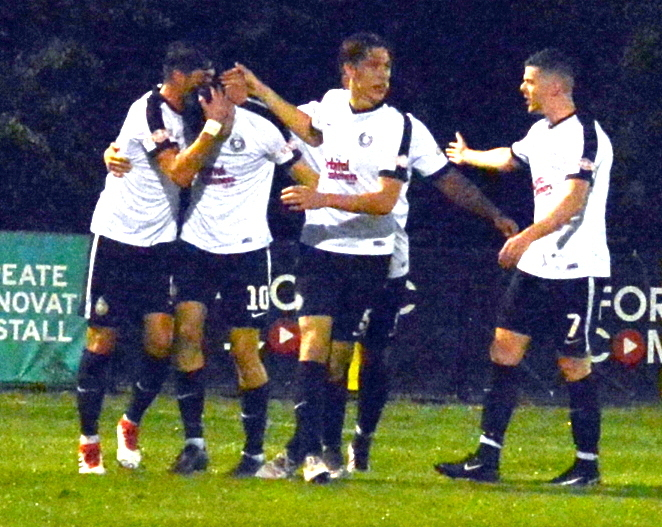 Kings Langley secured a three-point reward in Swindon.