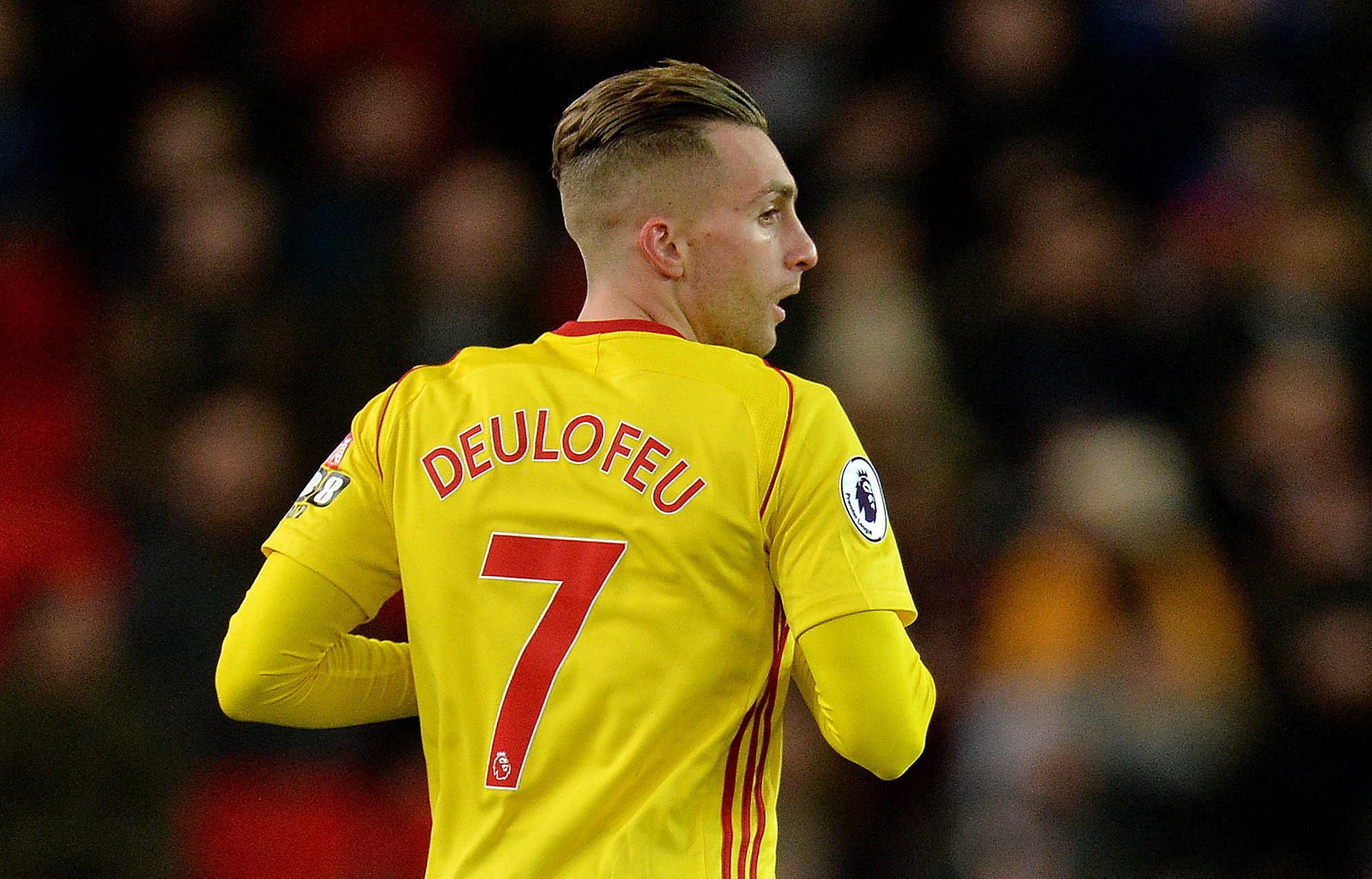 Gerard Deulofeu could start against Wolves on Saturday. Picture: Action Images