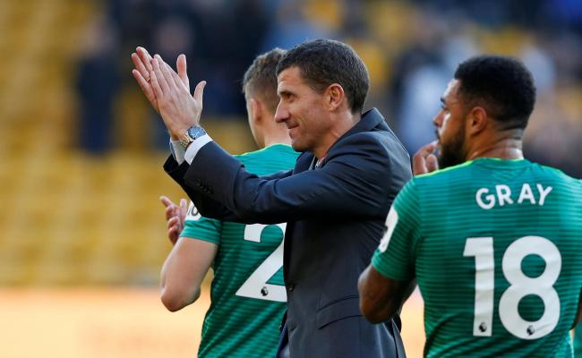 Javi Gracia was rewarded for shuffling his pack against Wolves on Saturday. Picture: Action Images
