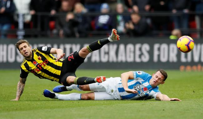 Kiko Femenia feels Watford need to maintain their high performance levels if they want to remain in the top half of the Premier League. Picture: Action Images