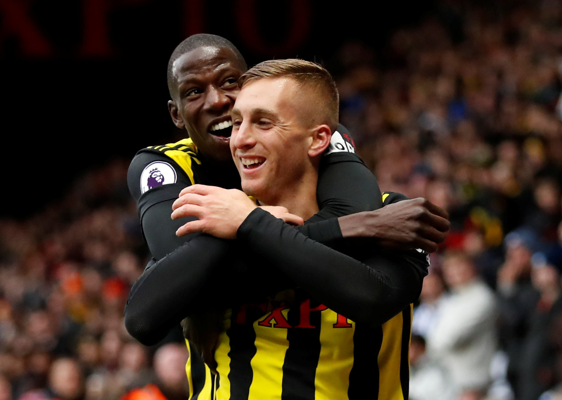 Gerard Deulofeu is enjoying life at Vicarage Road. Picture: Action Images