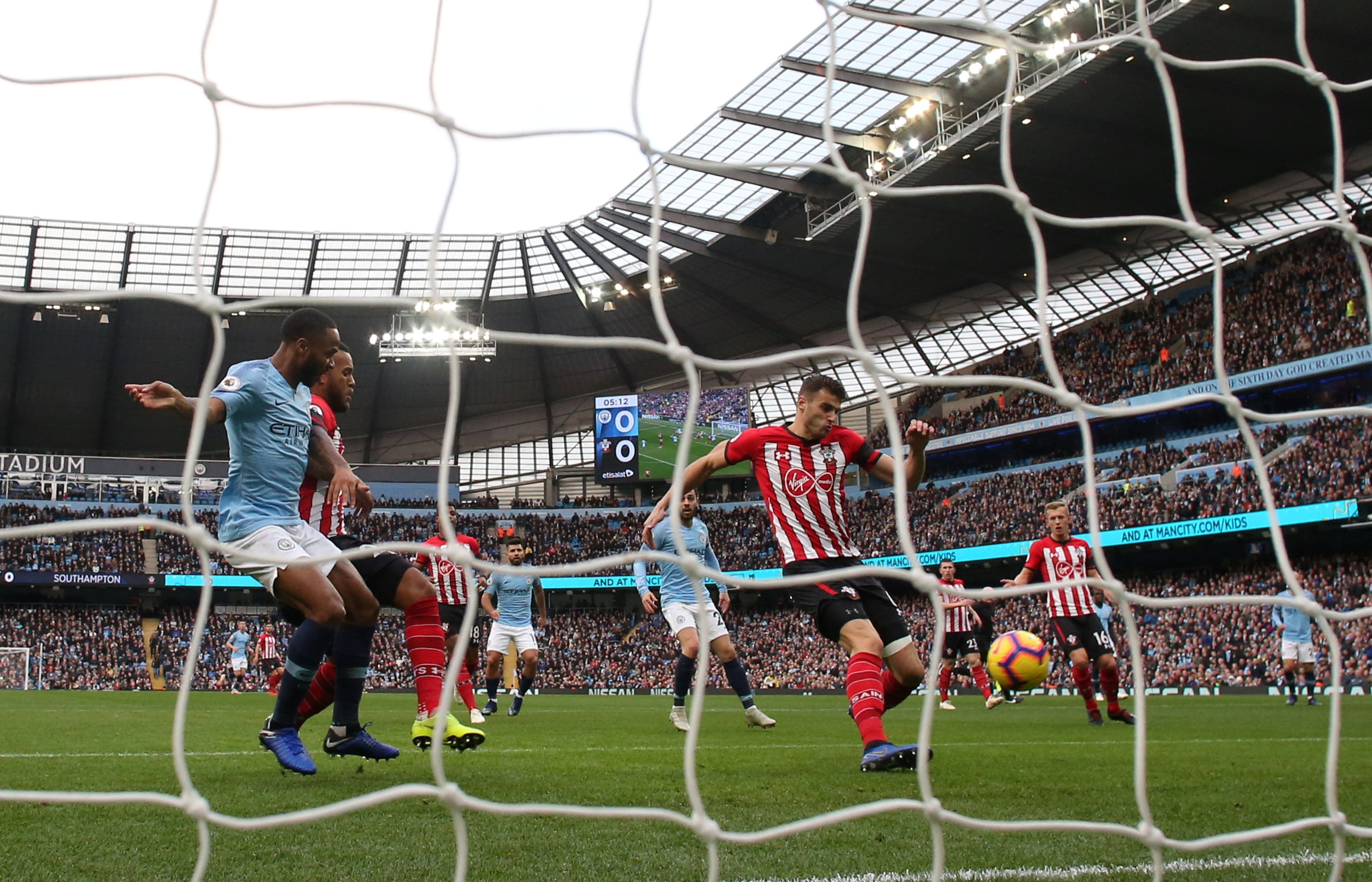 Wesley Hoedt scored an own goal in Southampton's mauling at Manchester City last weekend. Picture: Action Images