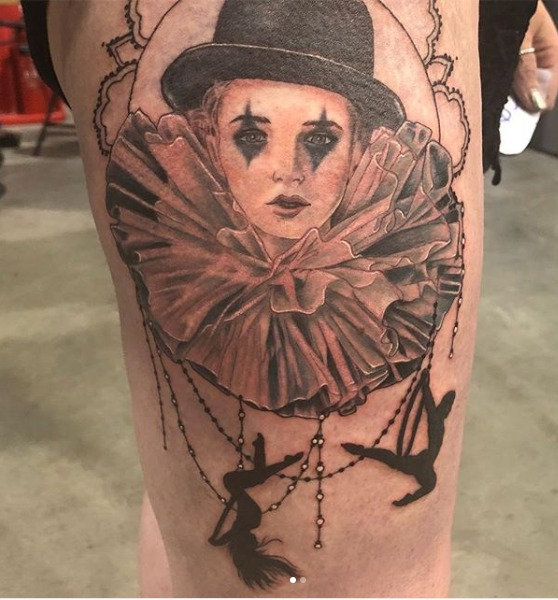 Tattoo scoops 'best' award in show