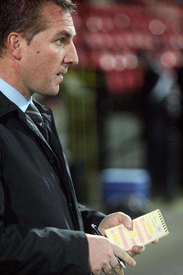 Watford Observer: Bookies expect Brendan Rodgers to take over at Reading. Picture: Jane Parr