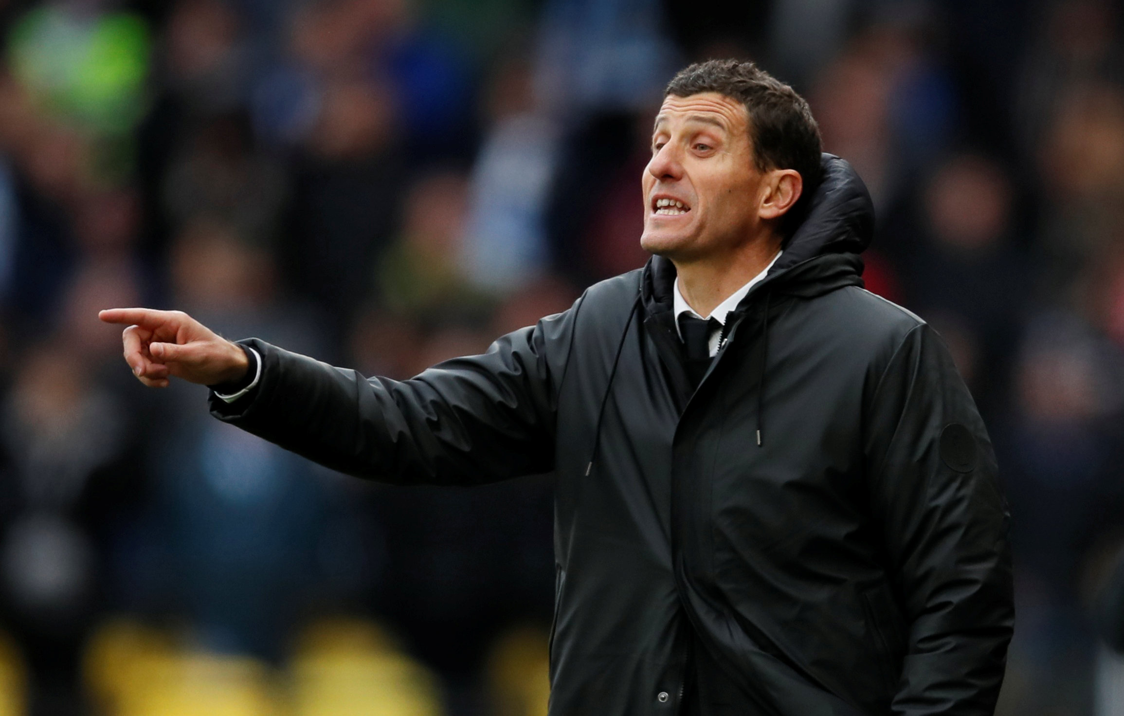 Javi Gracia is pleased with the Hornets' defensive work. Picture: Action Images