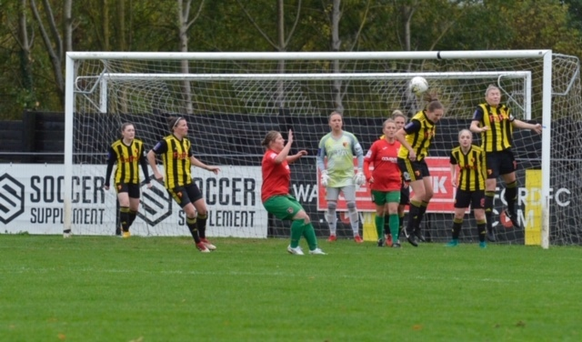 Watford Ladies will travel to Middlesbrough if they win the rearranged tie. Picture: Len Kerswill