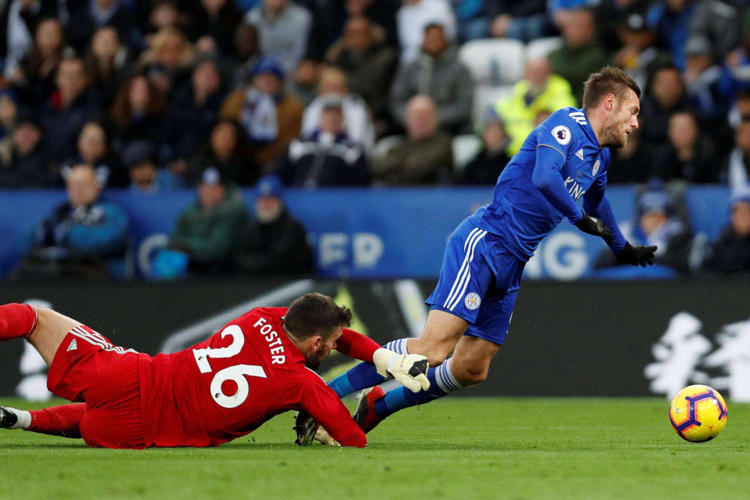 Foster questions Vardy penalty decision