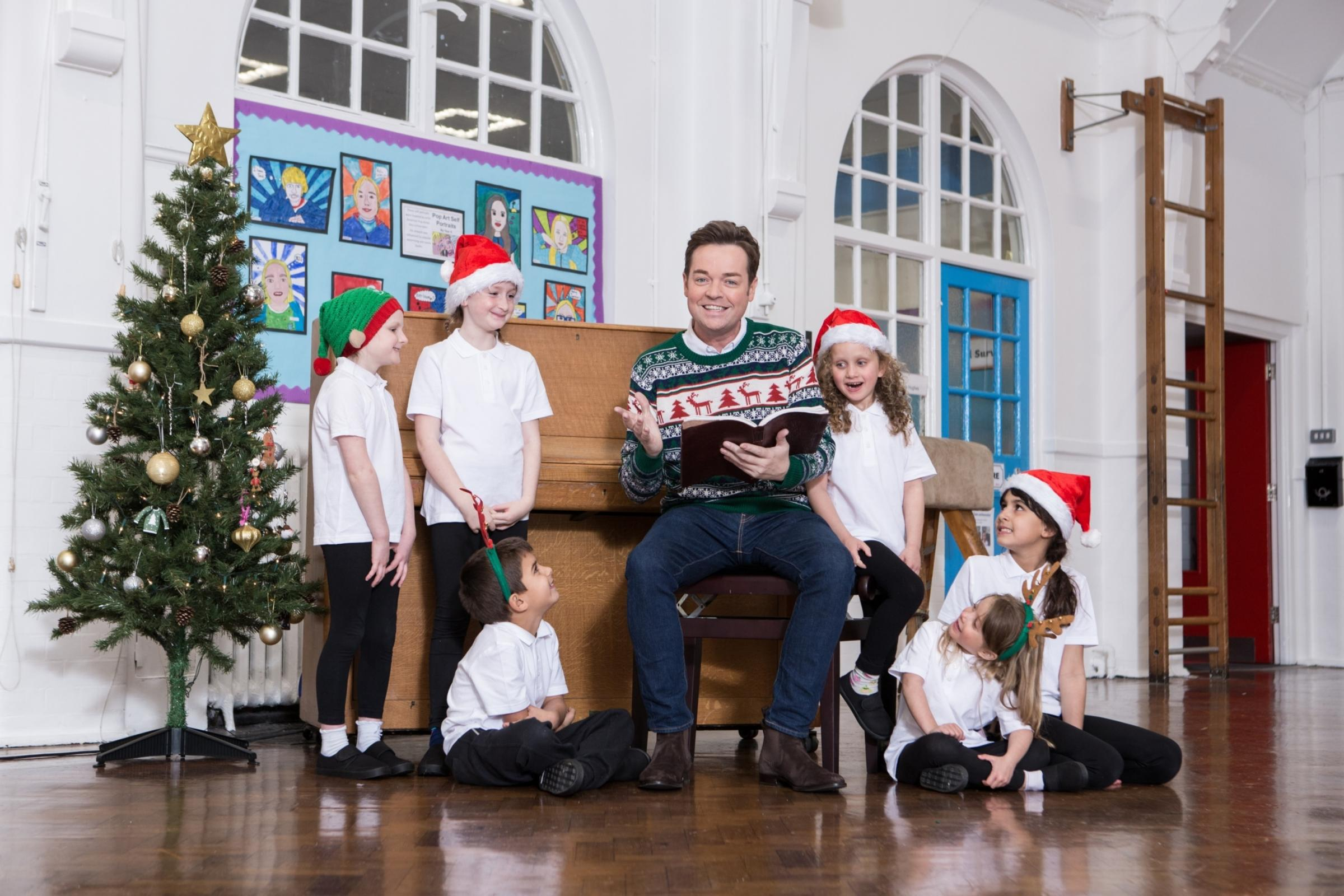 Winners will work with TV entertainer, Stephen Mulhern, who will join the school's cast playing the role of narrator for a one-off performance