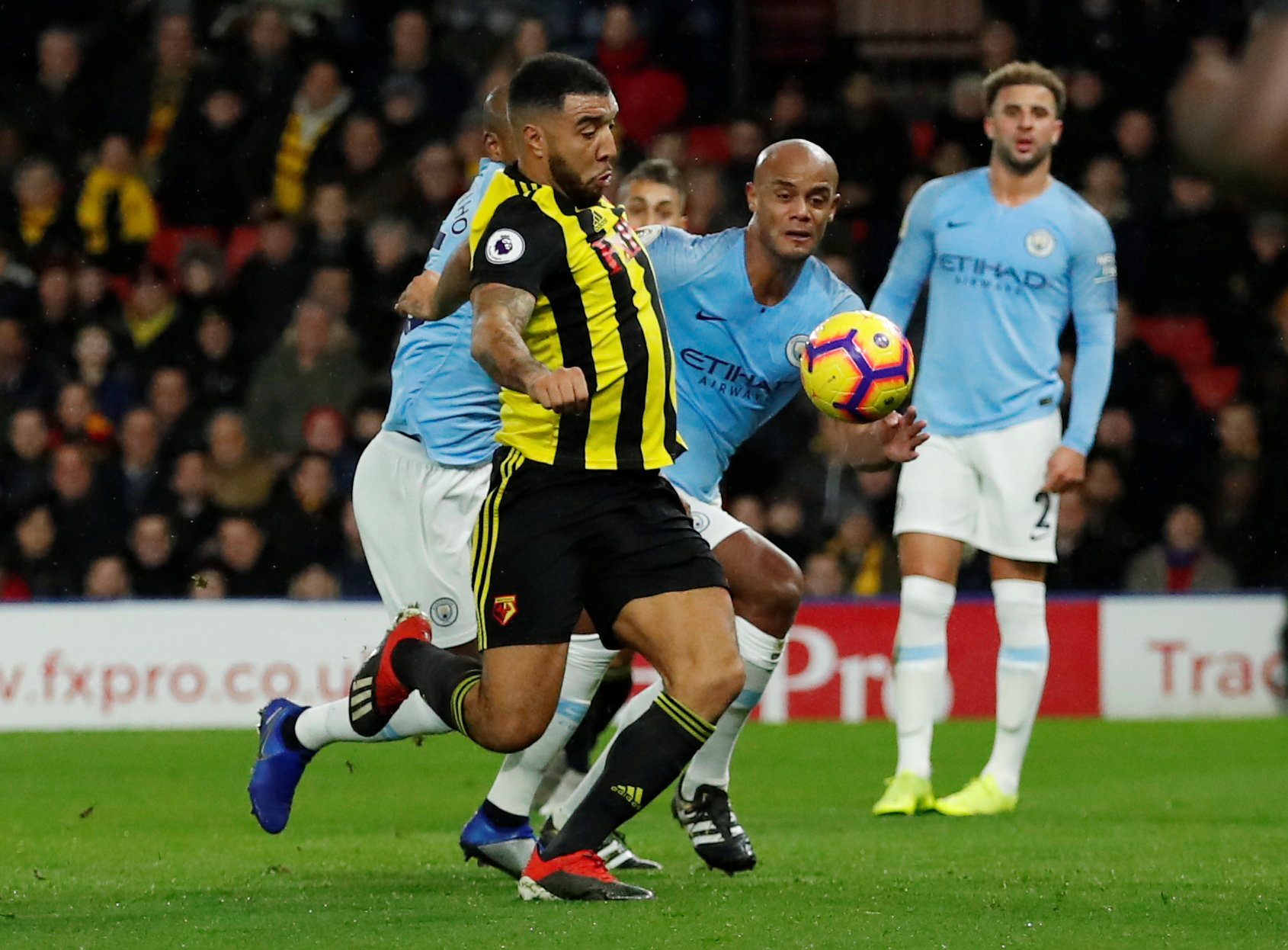 Kompany: City had to be at their best to beat Hornets