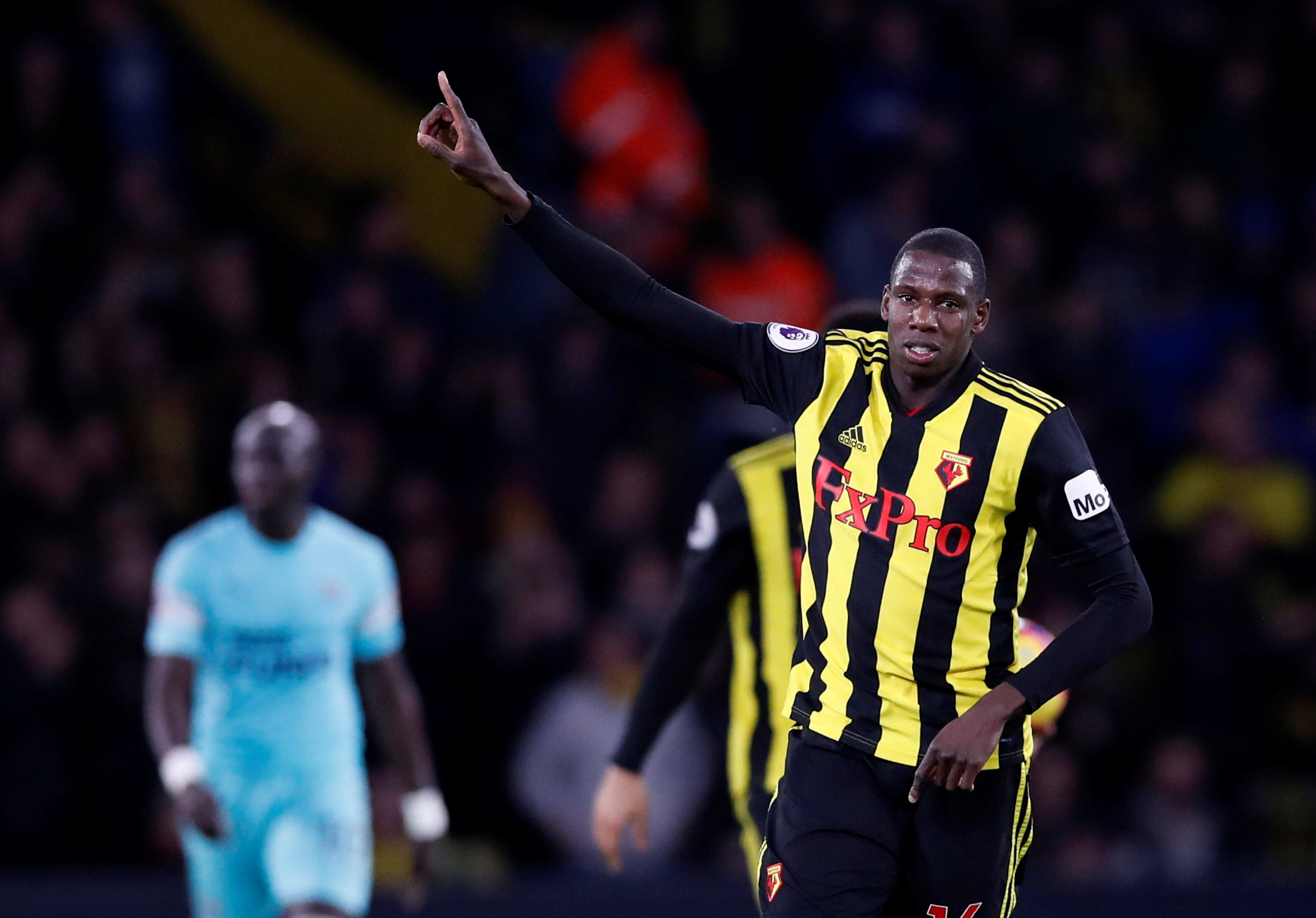 Abdoulaye Doucoure tells French radio station he is happy at Watford. Picture: Action Images