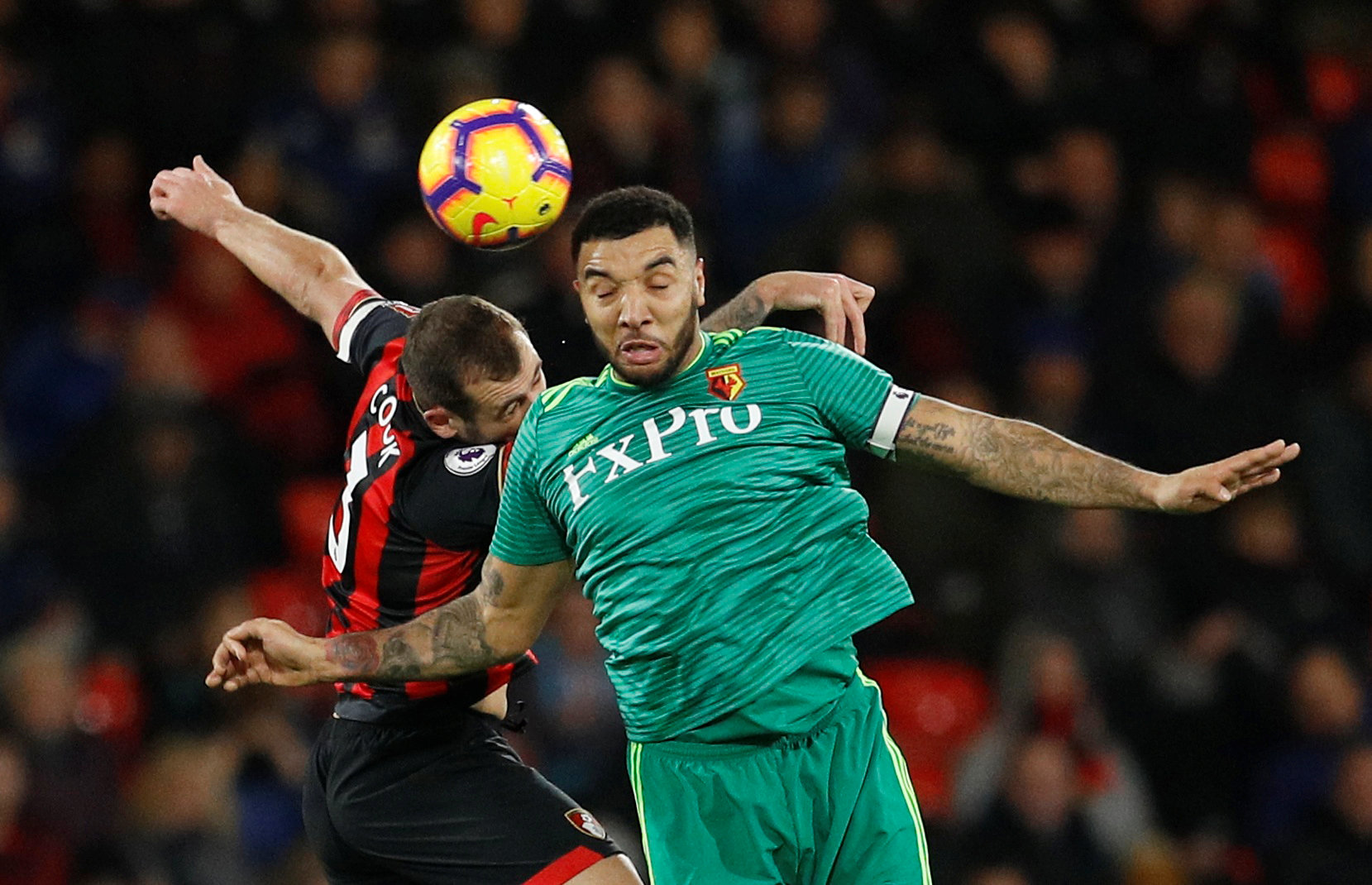 Watford and Bournemouth shared six goals at the Vitality Stadium. Credit: Action Images