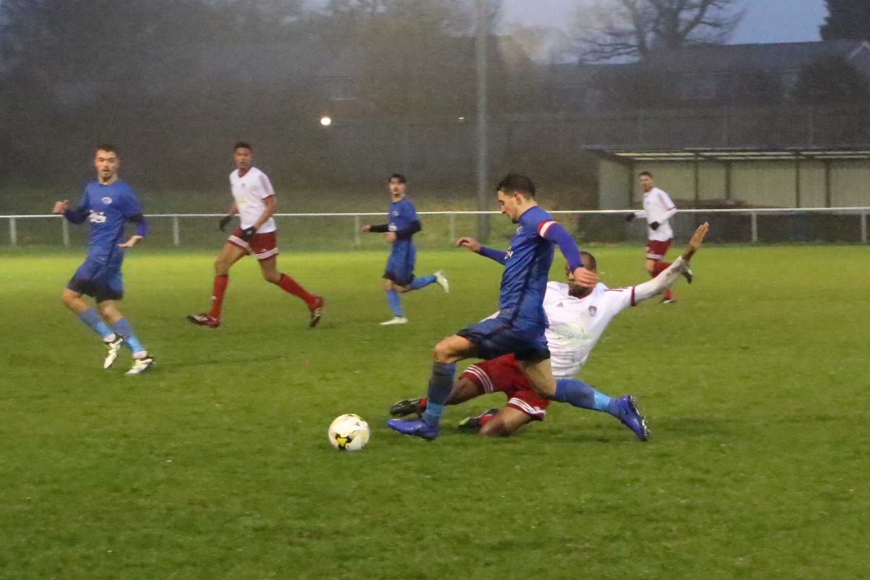 The year ended on a disappointing note for Oxhey Jets. Picture: John Elliott