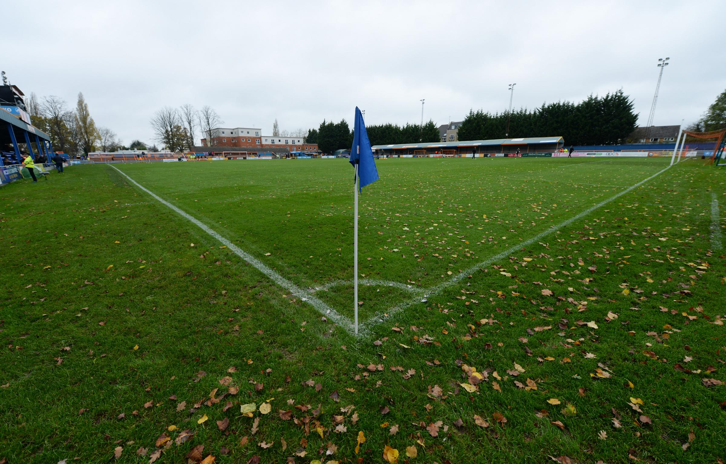 Braintree Town's Cressing Road Stadium. Picture: Action Images