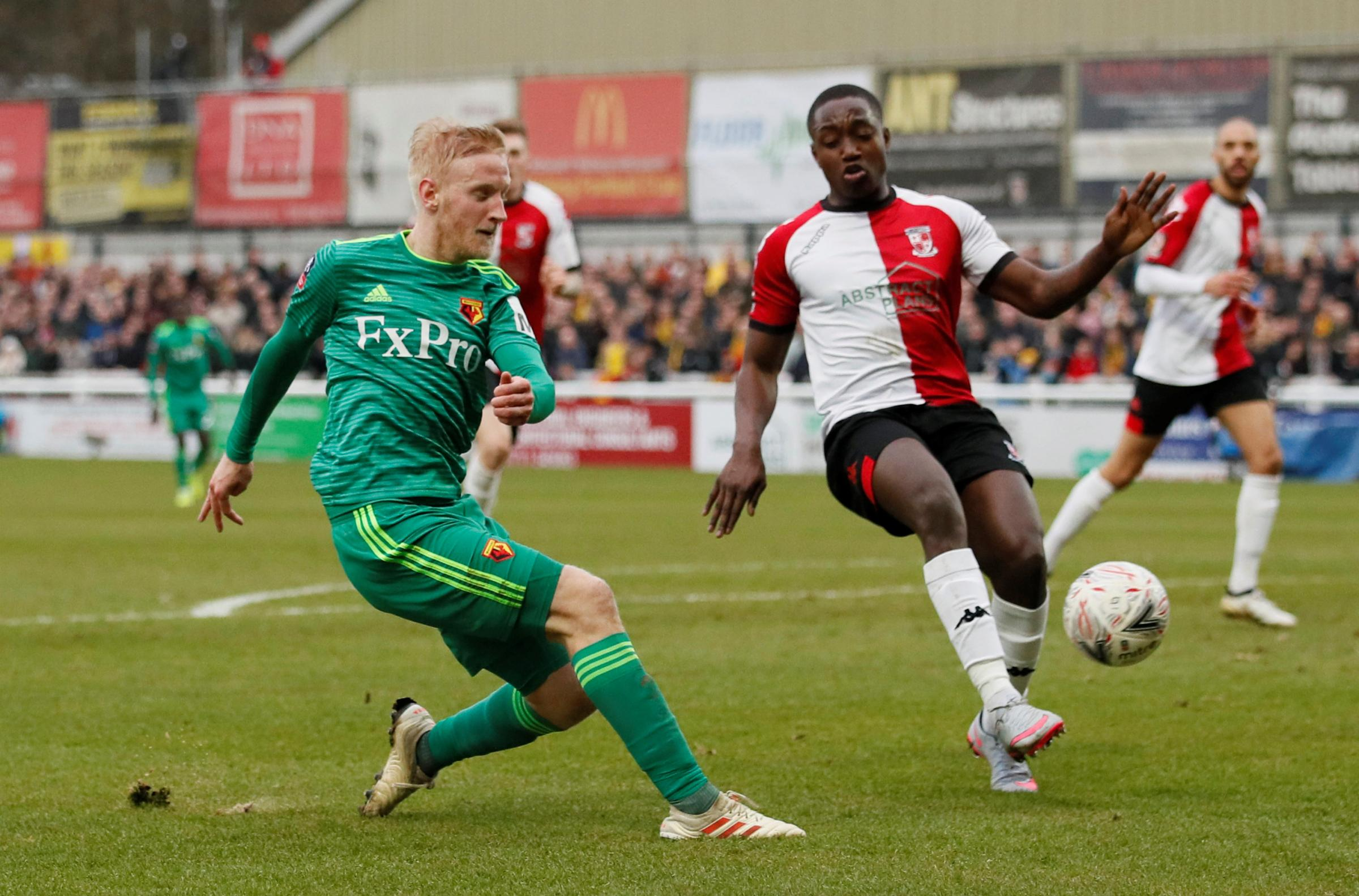 Will Hughes shone against Woking in the FA Cup. Picture: Action Images