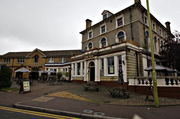 The Flag pub is no more