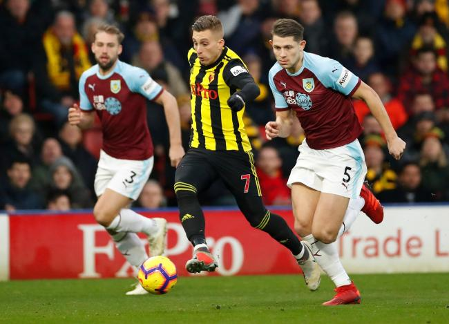 Gerard Deulofeu spurned a fine chance to give Watford an early lead. Picture: Action Images