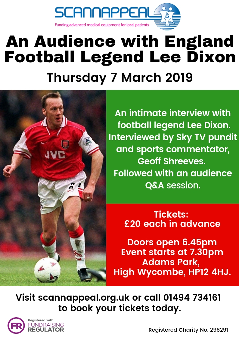 An Audience with Lee Dixon