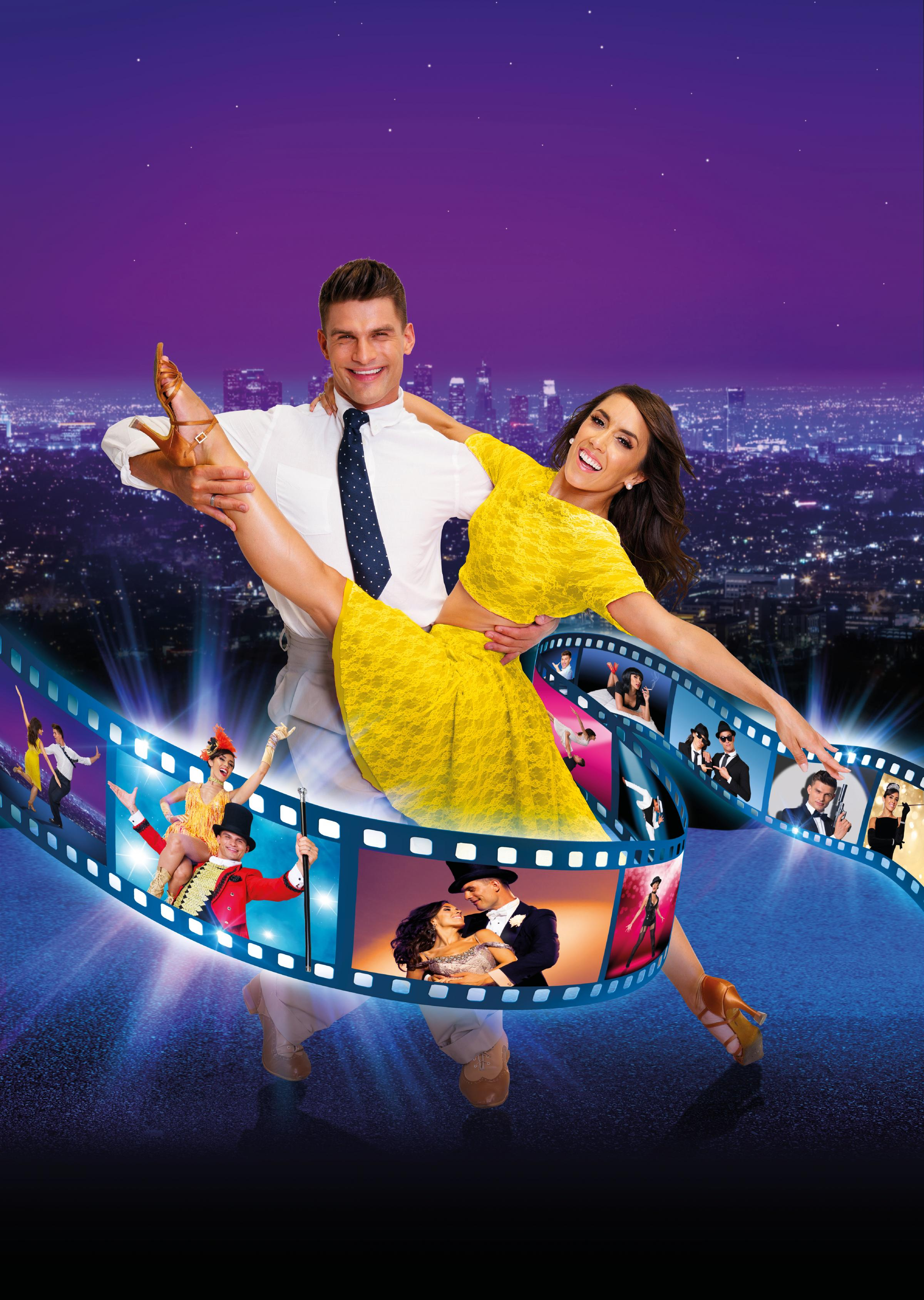 Strictly Come Dancing's very own Aljaz Skorjanec and Janette Manrara