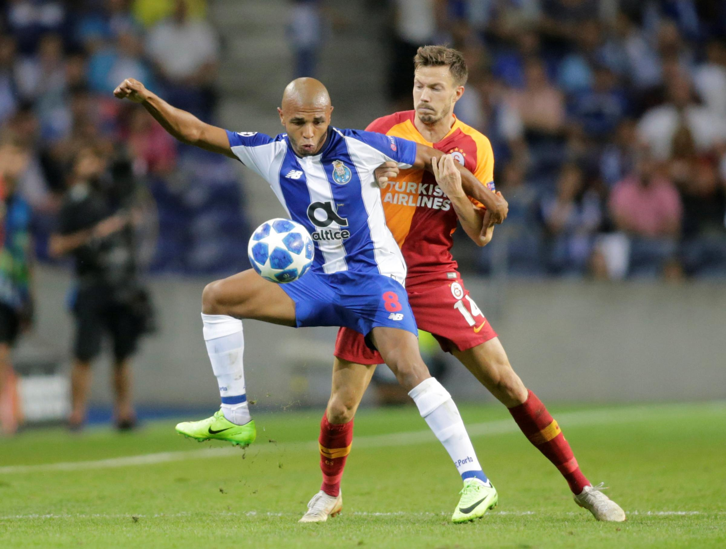 Reports are linking Watford with a move for Yacine Brahimi. Picture: Action Images