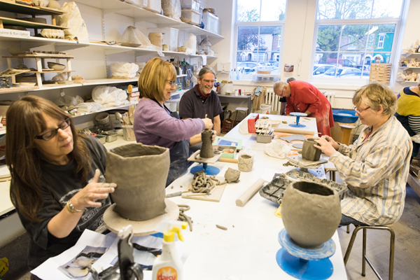 Pottery Summer School at Queens Park Arts Centre