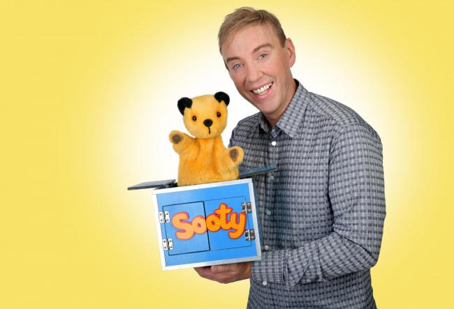 Sooty's Magic Show is coming to the Radlett Centre this weekend