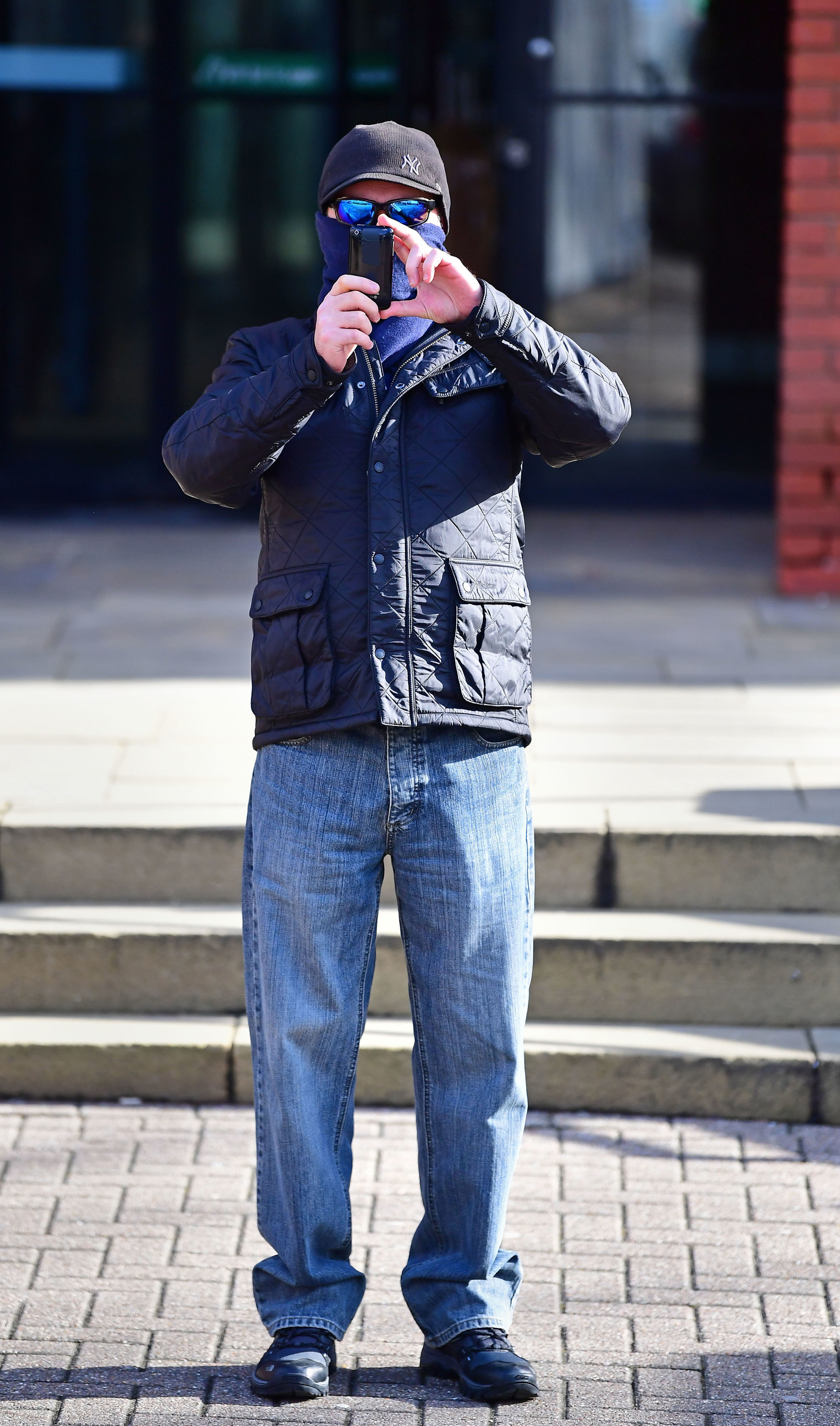 Edward Putnam outside court today (Thursday) Credit: PA