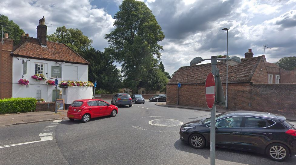 Safety concerns have been raised about the King Harry junction