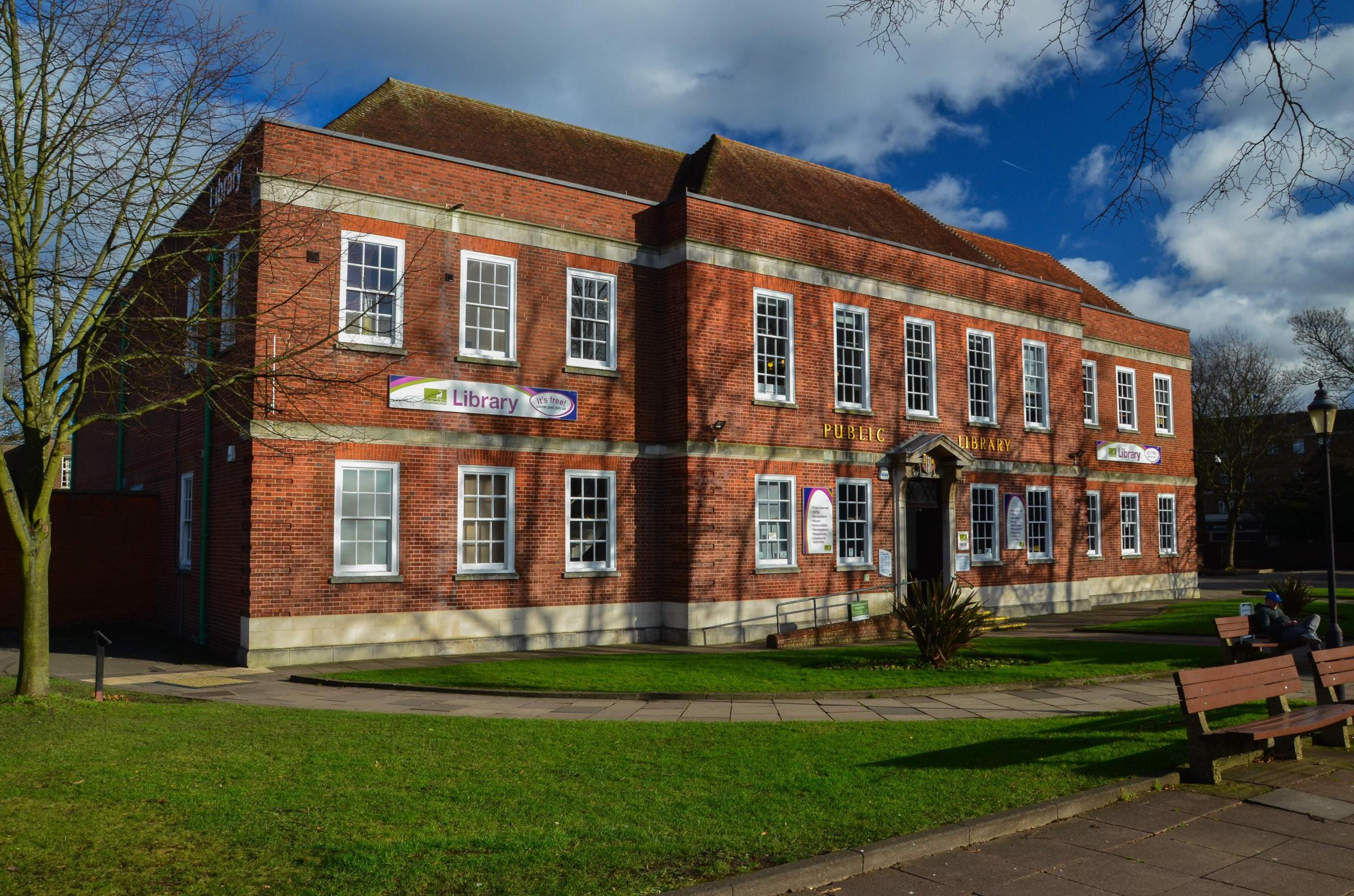 Watford's Public Library has been listed