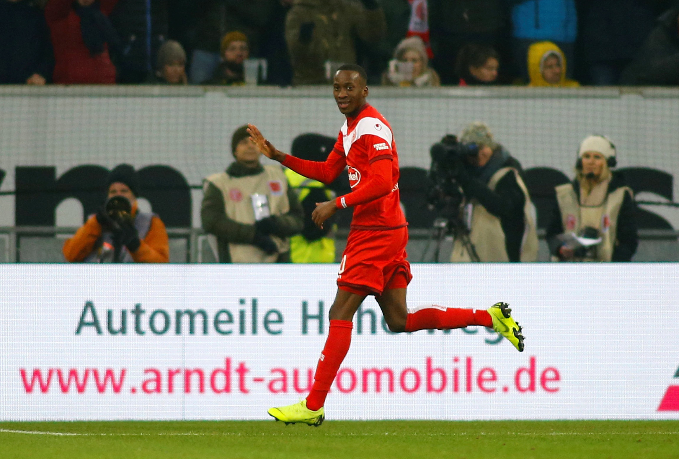 Dodi Lukebakio has impressed at Fortuna Dusseldorf this season. Picture: Action Images