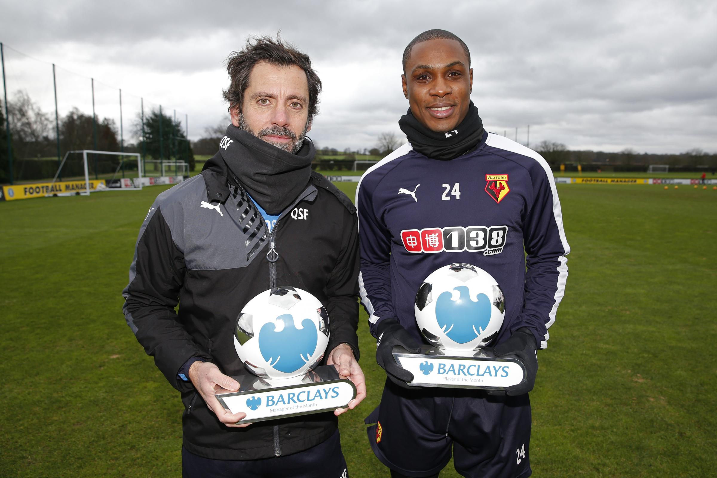 Ighalo and Sanchez Flores reunite in China
