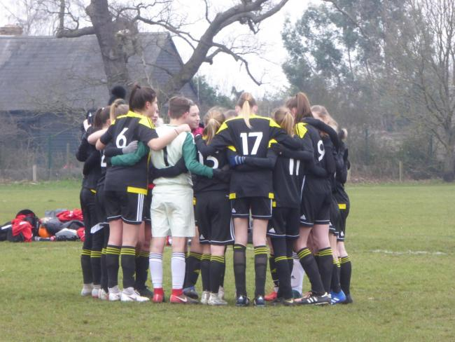 An impressive 8-0 victory saw the Under-16s through to the County Cup final.
