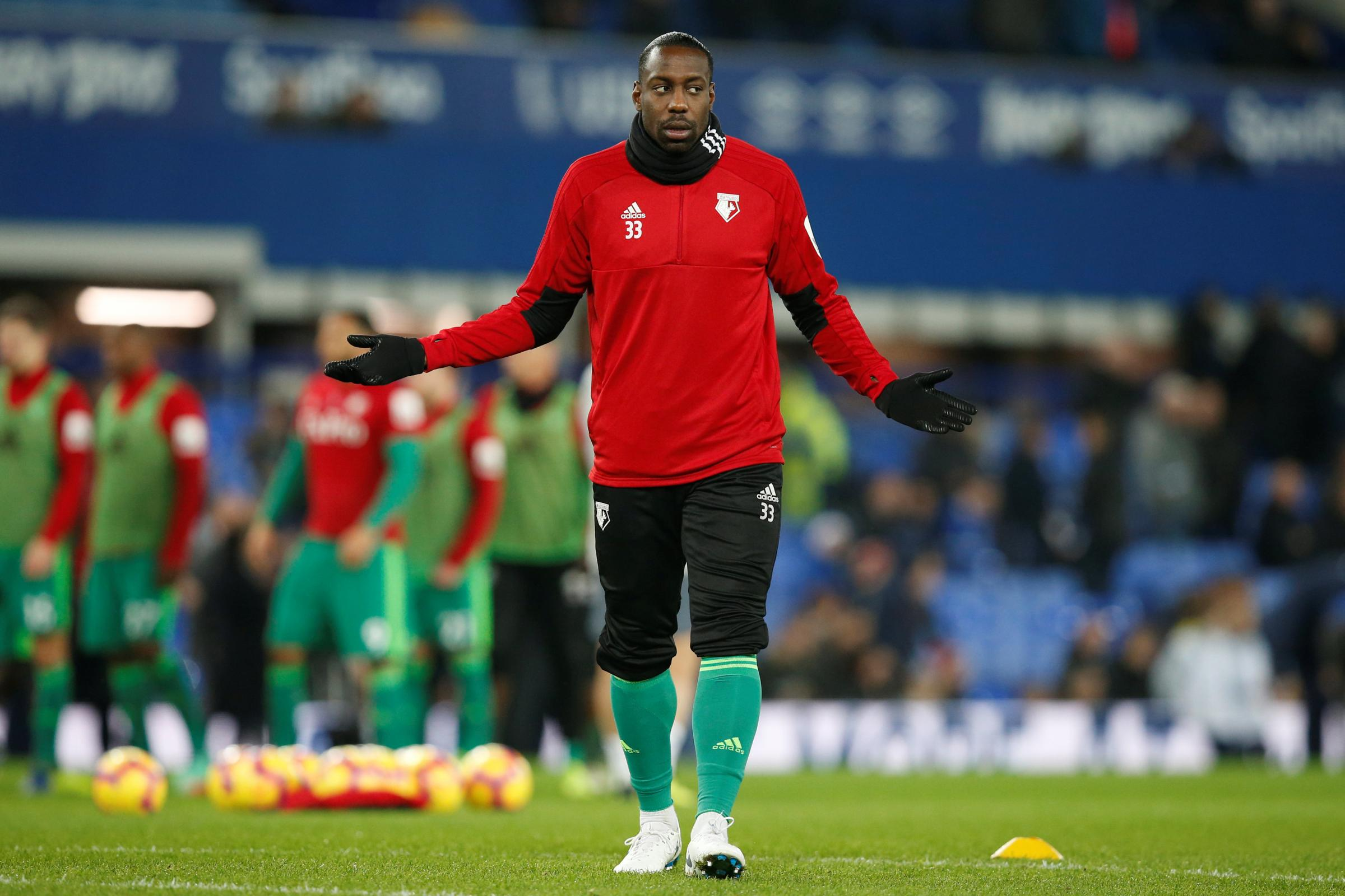 Okaka angered by lack of game time at Watford