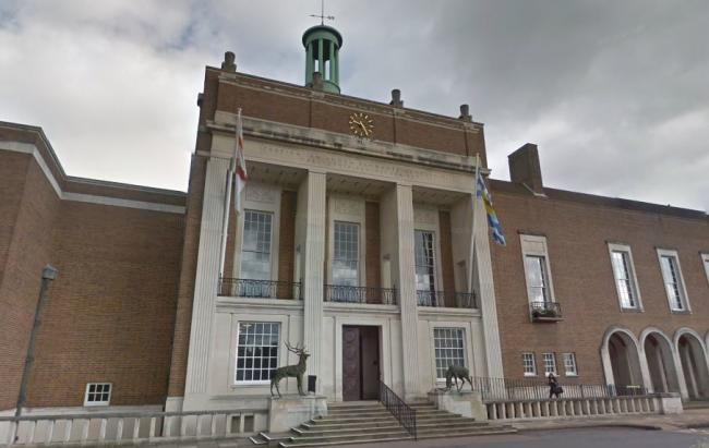 Hertfordshire County Council building