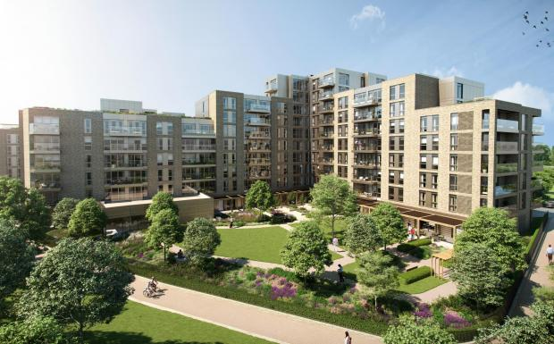 Watford Observer: A CGI from the village of Mayfield Watford