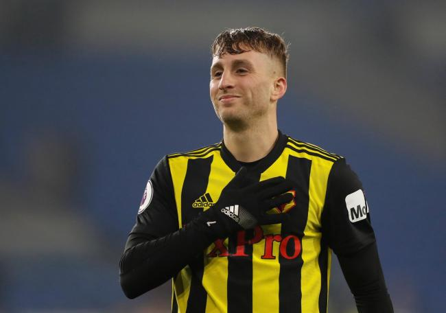 Deulofeu scored three for Watford against Cardiff. Picture: Action Images