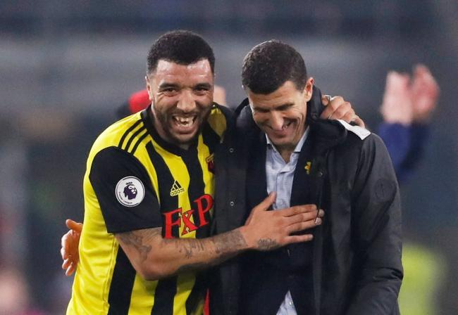 Javi Gracia thinks Troy Deeney is very respectful. Picture: Action Images