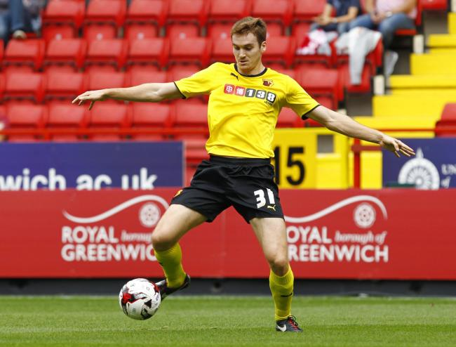 Tommie Hoban in action for Watford. Picture: Action Images