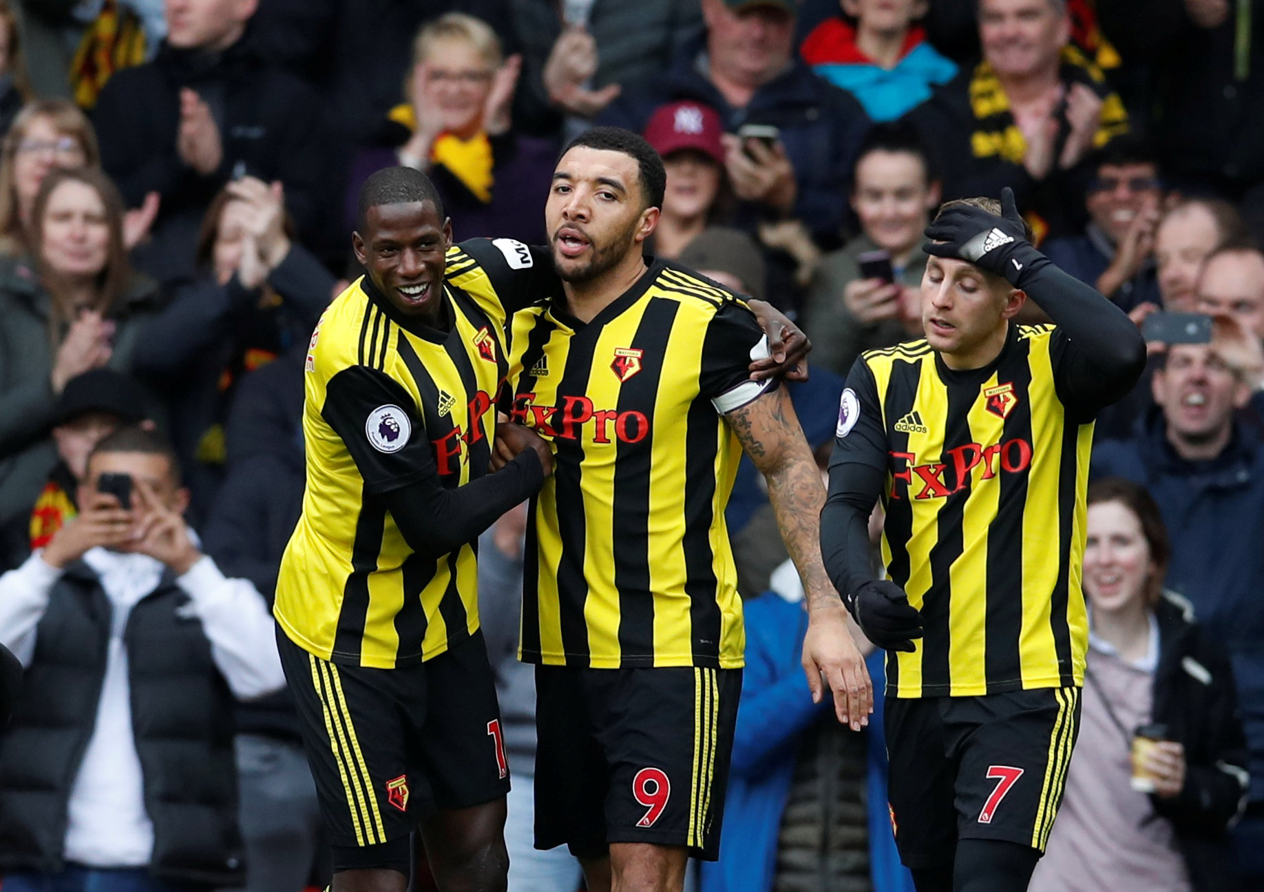 Tory Deeney impresses in victory over Leicester. Picture: Action Images