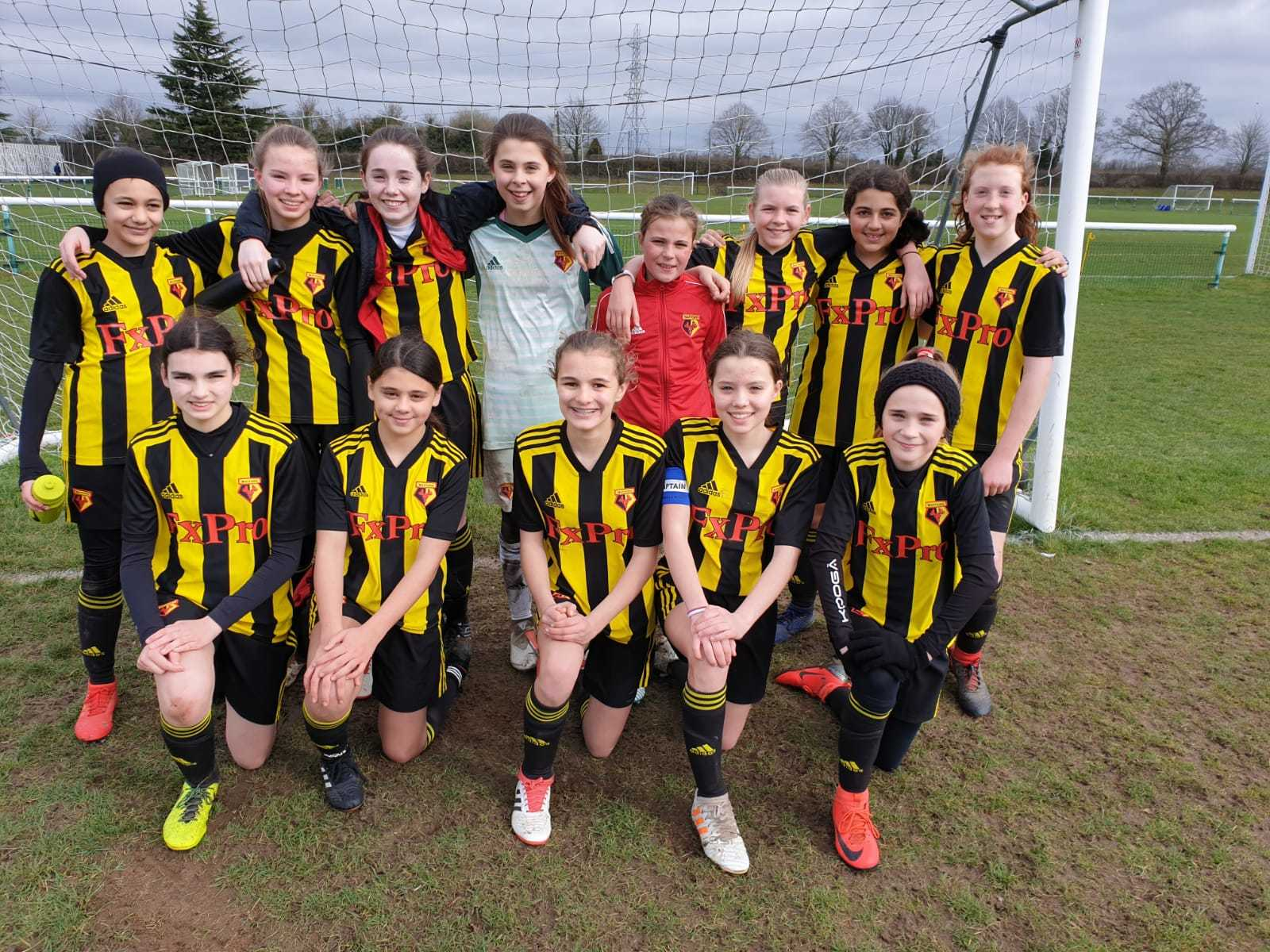Watford's Under-13s have joined the Under-16s in reaching a County Cup final.