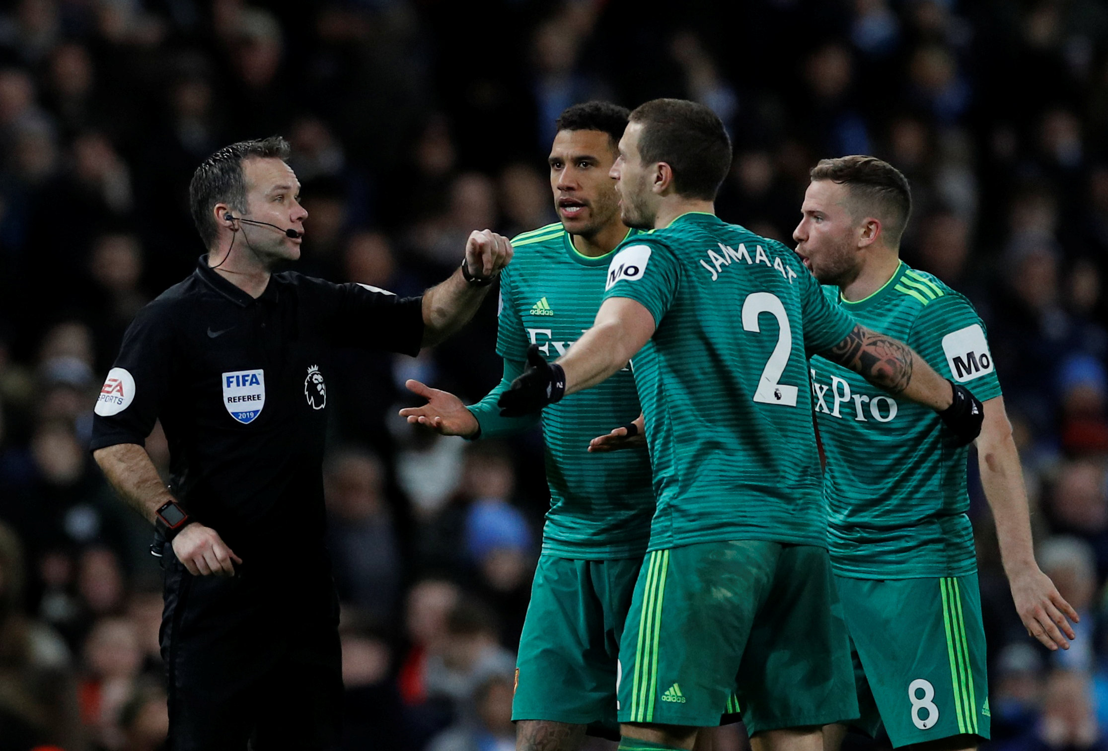 IN PICTURES: Offside controversy as Hornets lose at champions